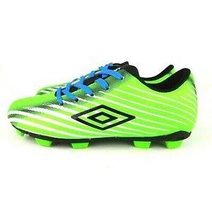 Umbro Boys Neon Green Soccer Cleats Sz 11